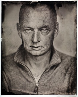 Wetplate portræt Thomas Holm. Photo by Michael Tonsberg